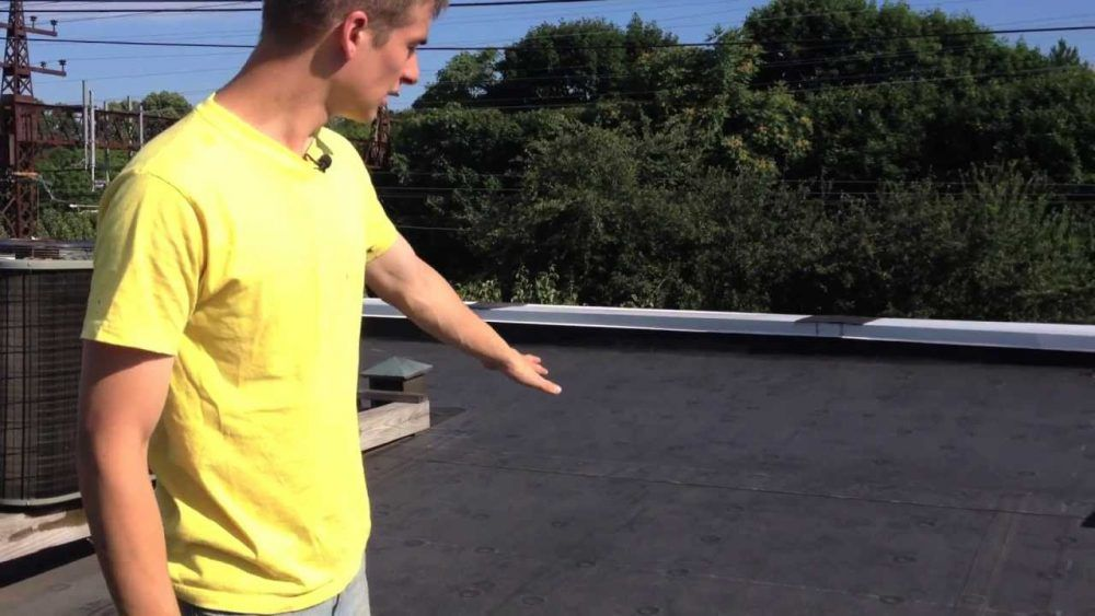 Rubber Membrane Roof Flat Three Types Roofing Systems