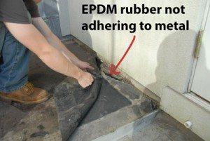 Flat Roof EPDM Rubber