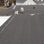 Epdm rubber roof versus modified bitumen or tpo flat roof repair and installation of rubber - Advantages using epdm roofing membrane ...