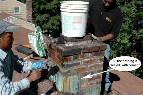 Most of the time chimneys need maintenance.