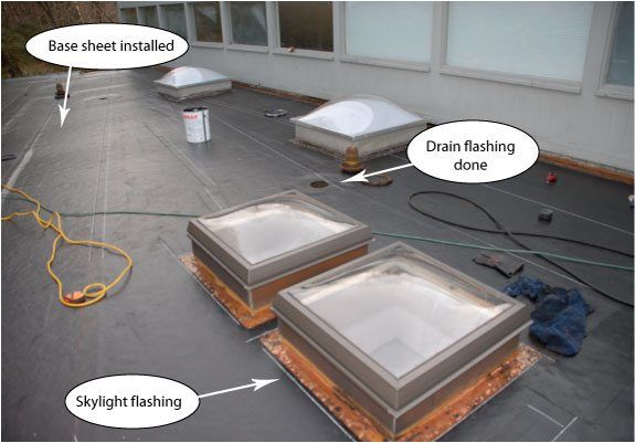 When Not To Repair A Flat Roof Wilton Weston And
