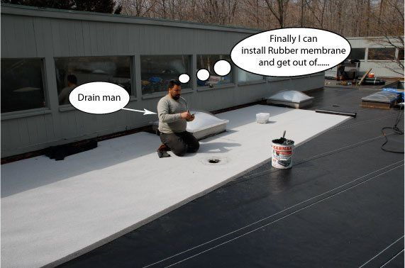 Commercial Flat Roof Repair And Installation Stamford