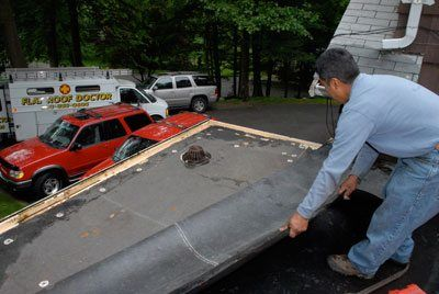 After peeling back the rubber we could fasten the insulation,