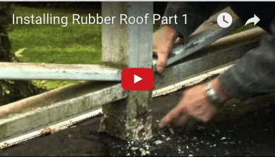 Flat Roof Installation – Residential flat roof Torch Down Rubber Roof
