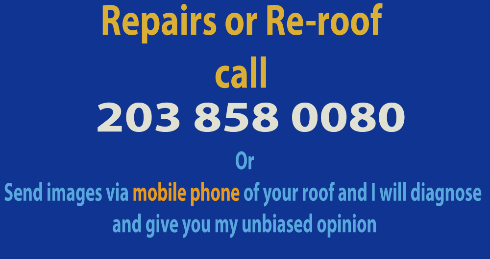 flat roof repair advertising banner