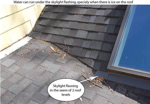 Roof Leak Causes five reasons for a flat roof leak. making roof repairs. westport.