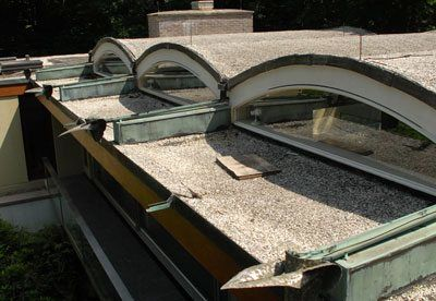 Scuppers The Best Draining System For A Flat Roof Serving