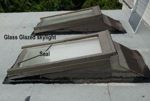 skylights on flat roofs