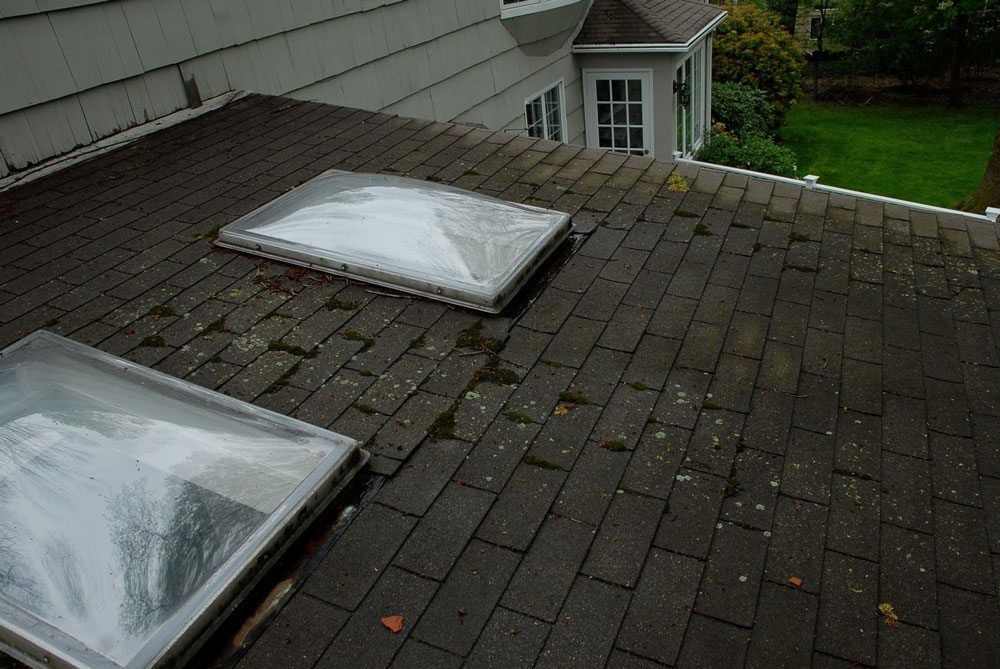 skylight on low pitch shingle roof causing leaks