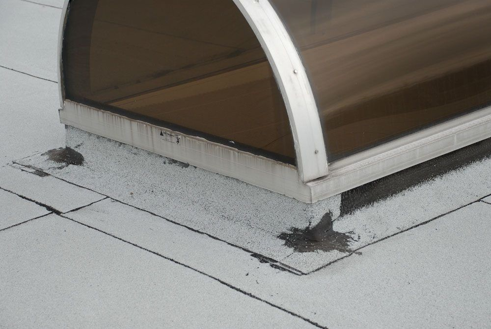 Skylights Drains Railing Posts Chimneys Scuppers Cause