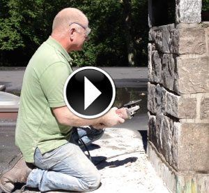 Chimney Grouting or repointing