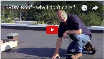EPDM Rubber Roofing Membrane - Ultraviolet Degradation - Watch Video