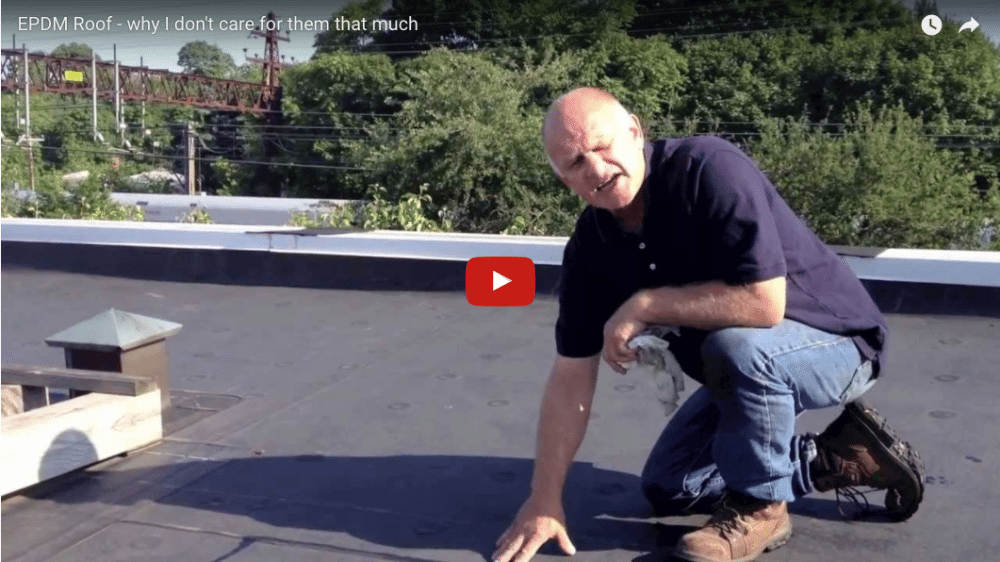 EPDM Rubber membrane fails prematurely due to the extreme heat on a roof