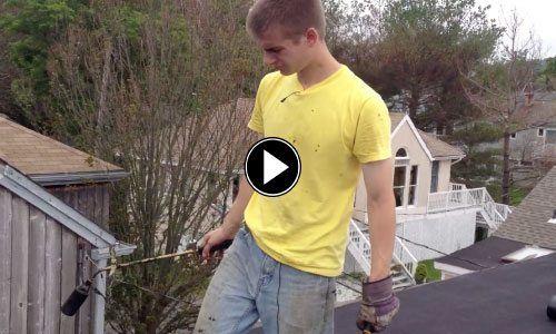 Erik-Installing Rubber Roof