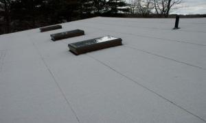 Modified Bitumen Rubber roofs are the best systems for Flat Roofs. New Canaan, Westport, Connecticut.