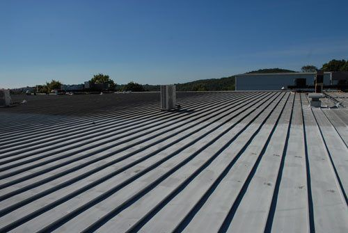 Metal roofs need coatings to give them a further life cycle.
