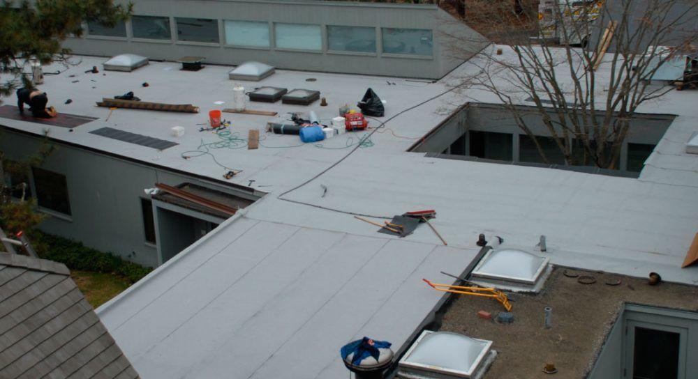 Residential and Commercial Flat roof
