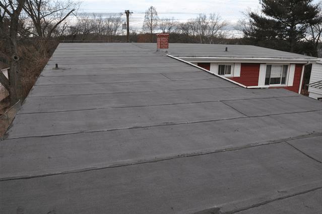 Flat Roof Rubber Membrane - Modified bitumen mop Down roof