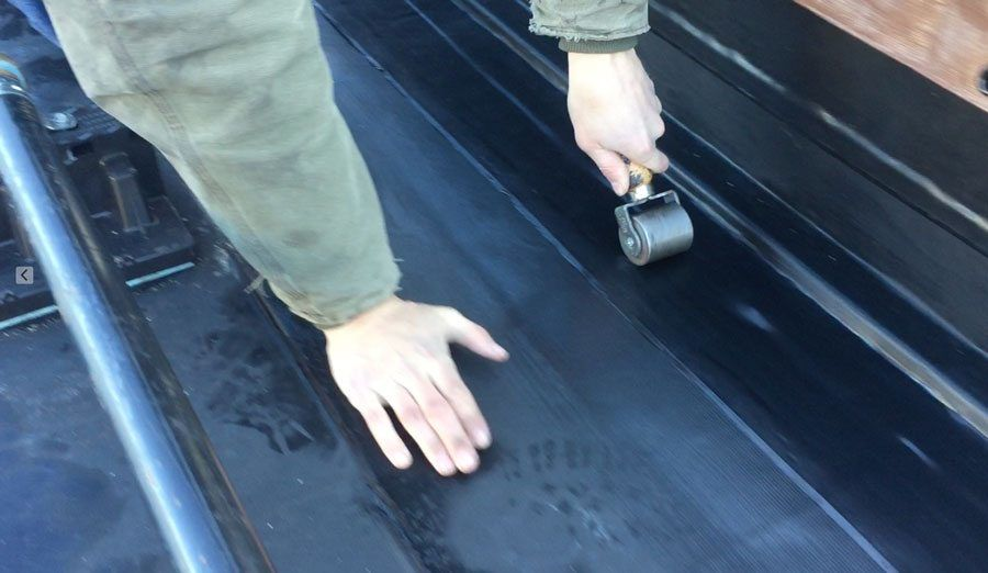 EPDM Rubber Roof - this is what most roofing contractors install