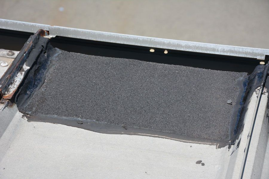 how to find a leak in metal roof