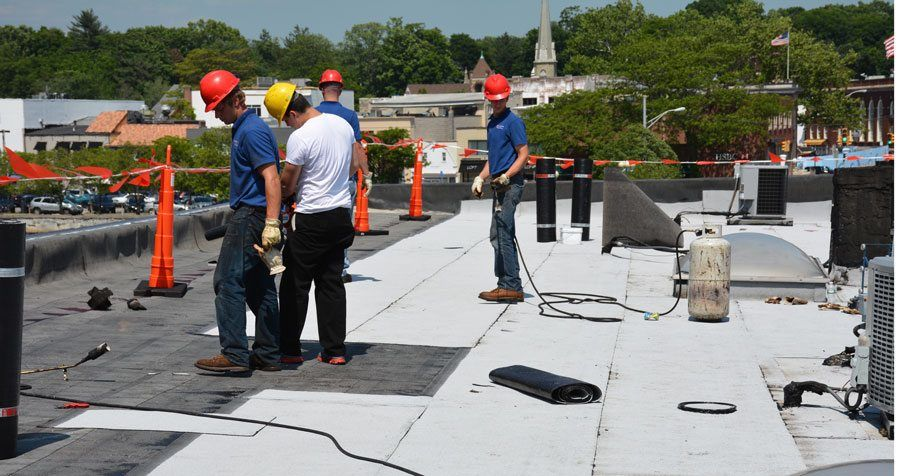 advantages two ply torch rubber roofing - watch-video This is one of the best roofing systems on the market