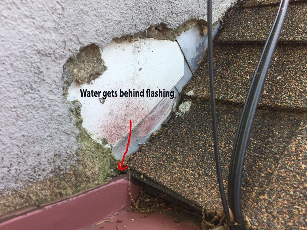 More flashing issues that could potentially cause leaks