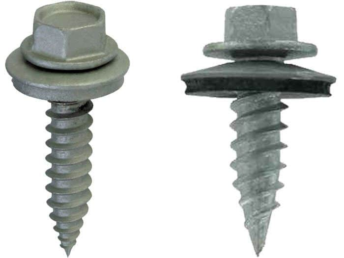 Metal Roof Screws and rubber or neoprene washers are the cause for leaks